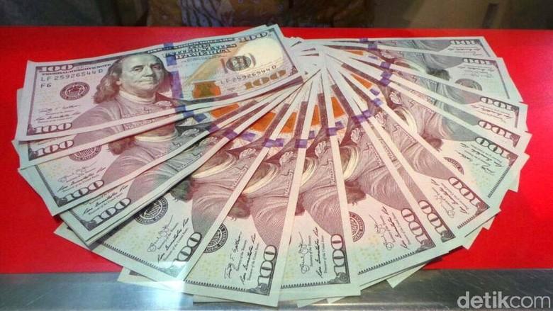 Ilustrasi money Changer (Selfie Miftahul Jannah/detikcom)