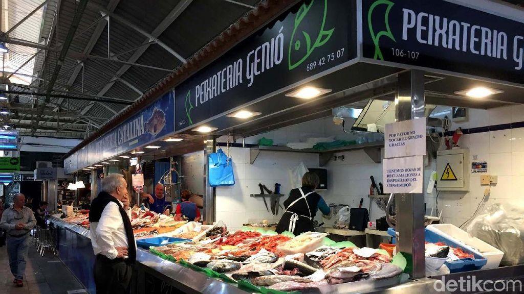 Mengintip Pasar Ratusan Tahun Orang Spanyol
