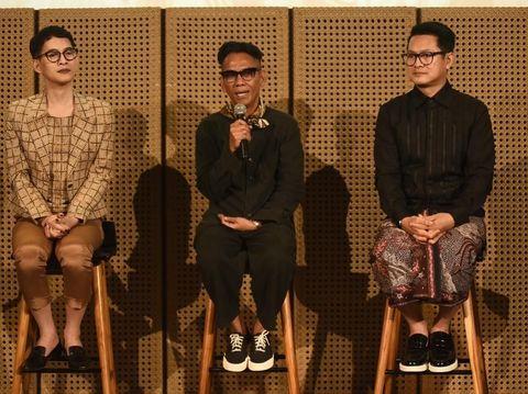 Jumpa pers Batik for The World, membawa batik ke UNESCO, Paris.