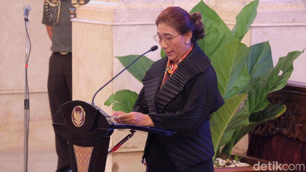 Ketemu Jokowi, Susi Lapor Kinerja Perikanan Membaik