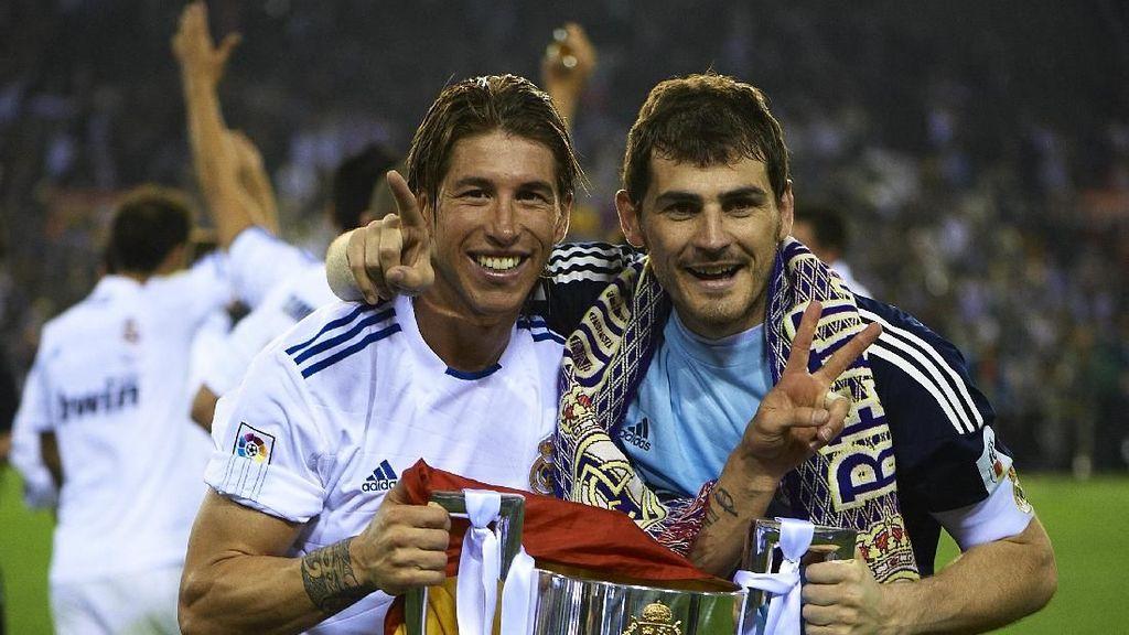 Terima Kasih Casillas untuk Ramos atas La Decima