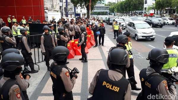 Amankan Lokasi Debat, Polisi Janji Bertindak Lebih Lunak