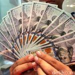 Dolar AS Turun ke Rp 14.150