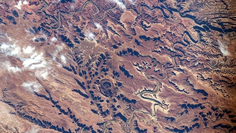 Canyonlands National Park yang dipotret oleh NASA (Instagram/nasa)