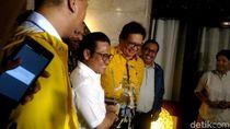Temui Airlangga, Cak Imin Minta Restu Duet dengan Jokowi
