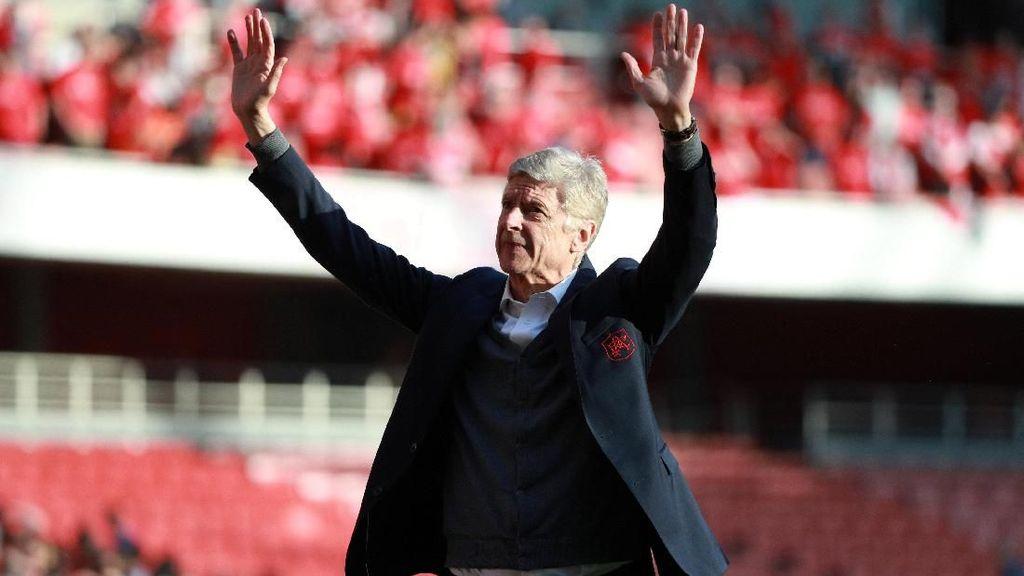 Wenger Tak Akan Kembali ke Arsenal, Nonton Pertandingan pun Tidak
