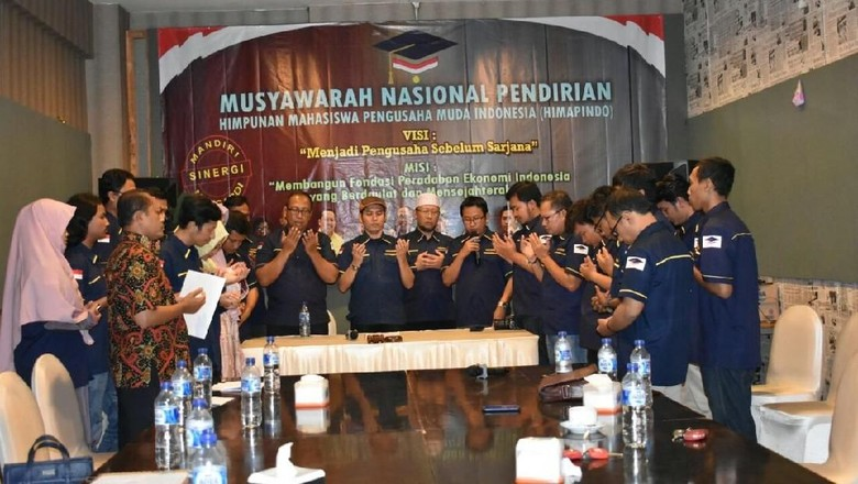 Pesan Generasi Mandiri dari Deklarasi Himapindo Malang