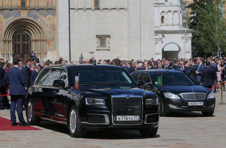 Mobil presiden Rusia. Foto: Reuters