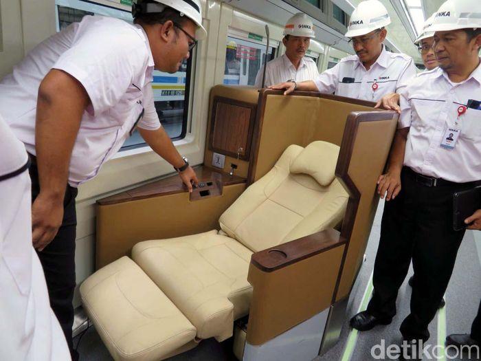 PT INKA akan membuat kereta yang mana satu gerbongnya berisi 18 kursi tidur. Rencananya, kereta tersebut akan dikirim pada akhir Mei.