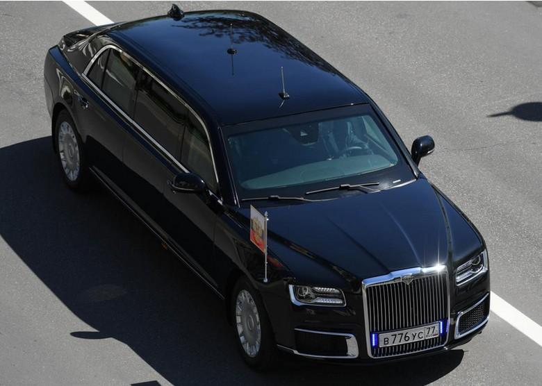 Mobil Vladimir Putin (Foto: Sputnik/Alexei Filippov/Pool via REUTERS)