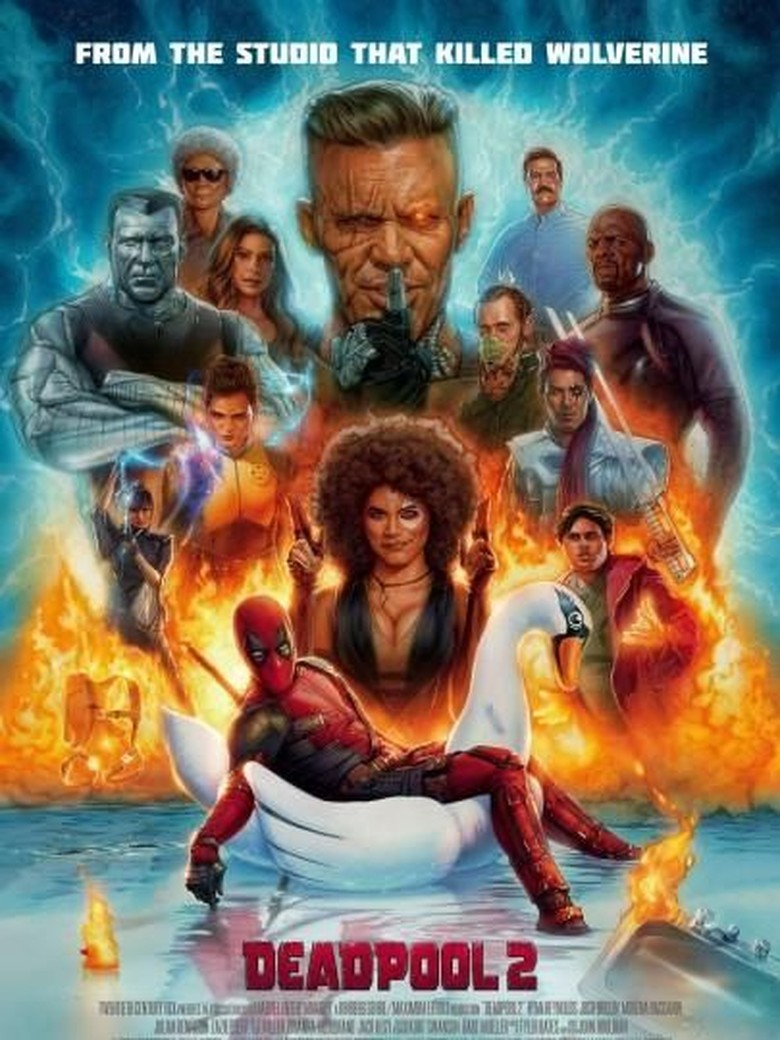 Deadpool 2 Sindir Logan di Poster Terbaru