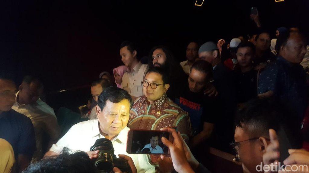 Kata Prabowo dan Syahrini soal Film 212 The Power of Love
