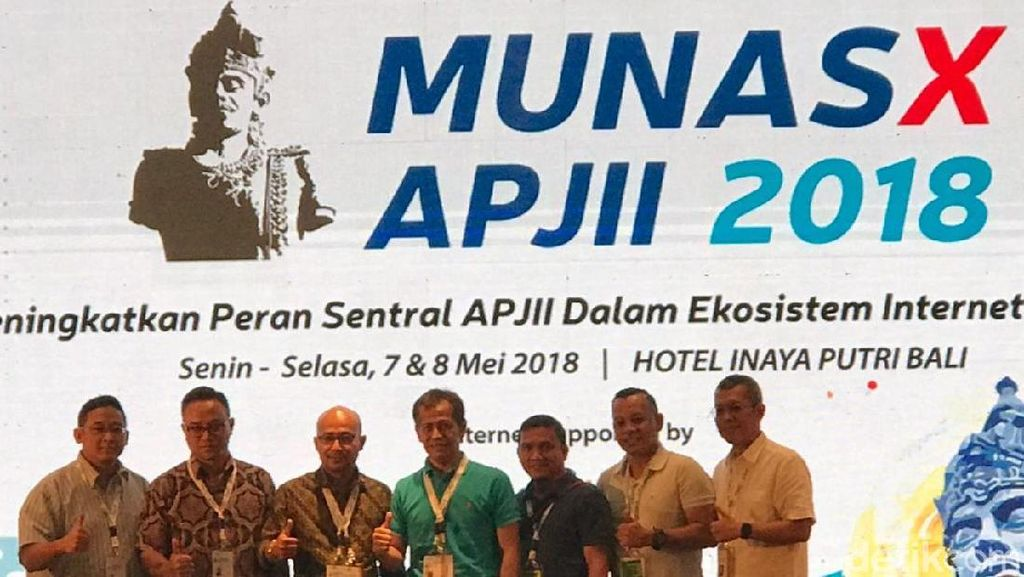 Jamalul Izza Kembali Terpilih Jadi Ketua Umum APJII