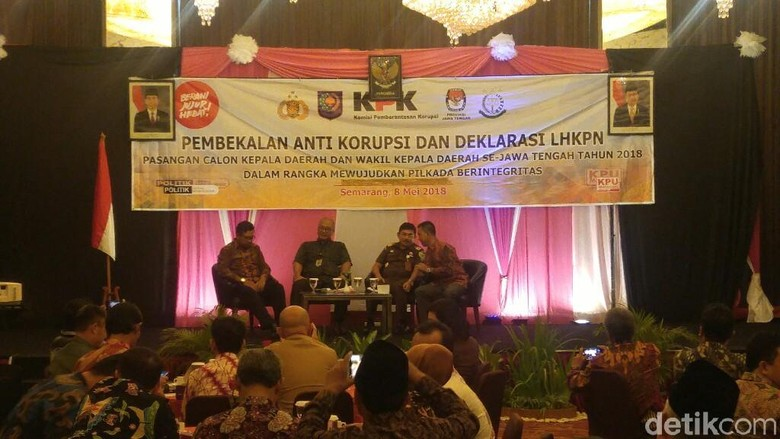 KPK Bekali Antikorupsi Pada 23 Paslon Kepala Daerah di Jateng