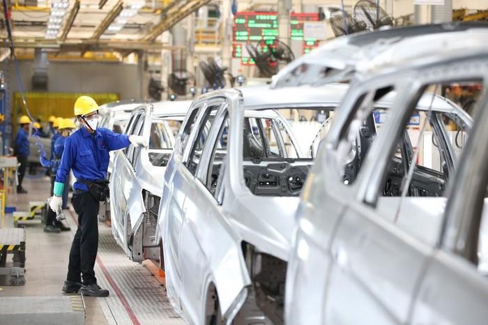 Pabrik Mobil Wuling di Cikarang