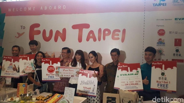 Suasana press conference Fun Taipei (Shinta/detikTravel)