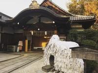 Kuil Yasui Kompira-gu Shrine seringkali disebut batu enkiri (pemisah) atau enmusubi (pernikahan). Kuil batu ini memiliki tinggi 1,5 meter dan lebar 3 meter. (fumichan0404/Instagram)