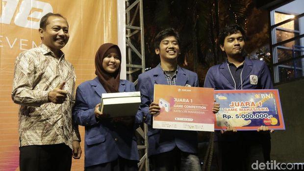 Bangga! Mahasiswa Surabaya Bikin Aplikasi Game dengan Kontrol Suara