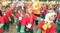 Lucunya, Ribuan Siswa TK Joged Lare Cilik Banyuwangi