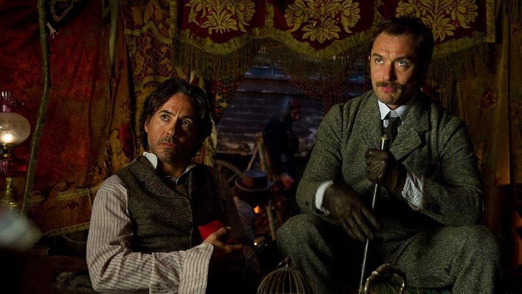 Lepas dari Avengers, Robert Downey Jr Bersiap untuk Sherlock Holmes 3