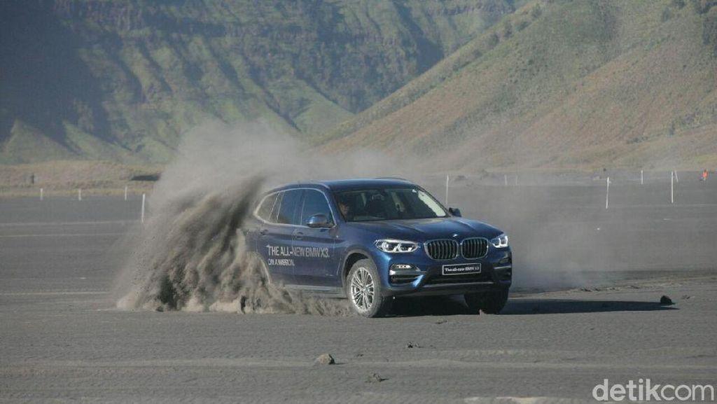 Serunya ke Bromo dengan All New BMW X3