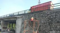 Fondasi Flyover di Sidoarjo yang Retak Diperbaiki