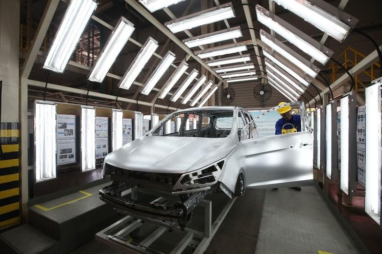 Pabrik Mobil Wuling di Cikarang. Foto: Dok. Wuling Motors Indonesia