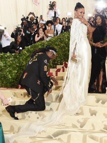 Rapper 2 Chainz melamar kekasih di Met Gala 2018.