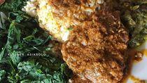Lamak Nian! 10 Sajian Rendang dengan Nasi yang Jadi Menu Makan Siang Netizen