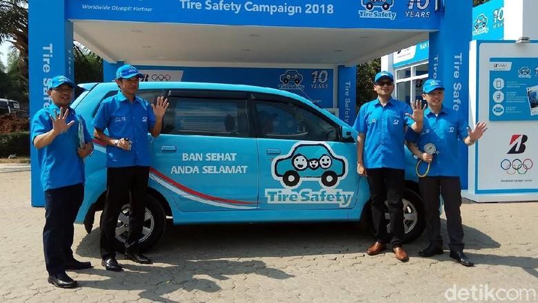 Kampanye Ban Sehat Anda Selamat (Foto: Bridgestone)