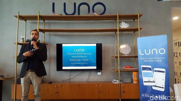 Vijay Ayyar, General Manager Luno berbincang seputar Bitcoin.