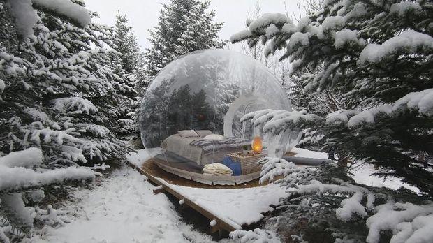 8 'Bubble Hotel' Berpemandangan Indah