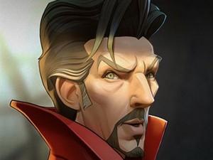 Animasi Karakter Avengers yang Mirip Banget
