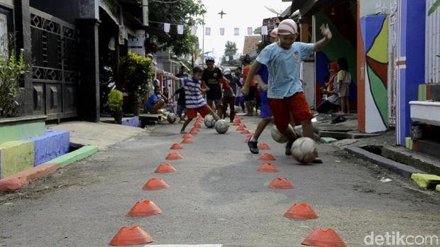 Kampung Piala Dunia 2018 di Batang.