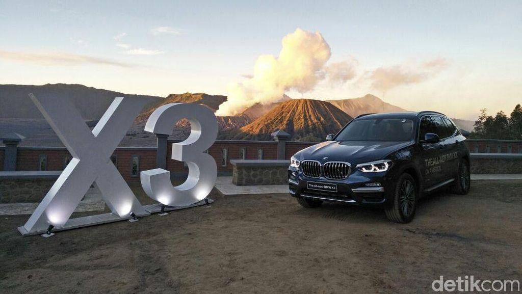 Menguji Ketangguhan Teknologi All New BMW X3 di Bromo