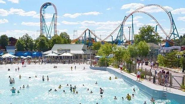 Taman rekreasi bertema coklat di Amerika Serikat