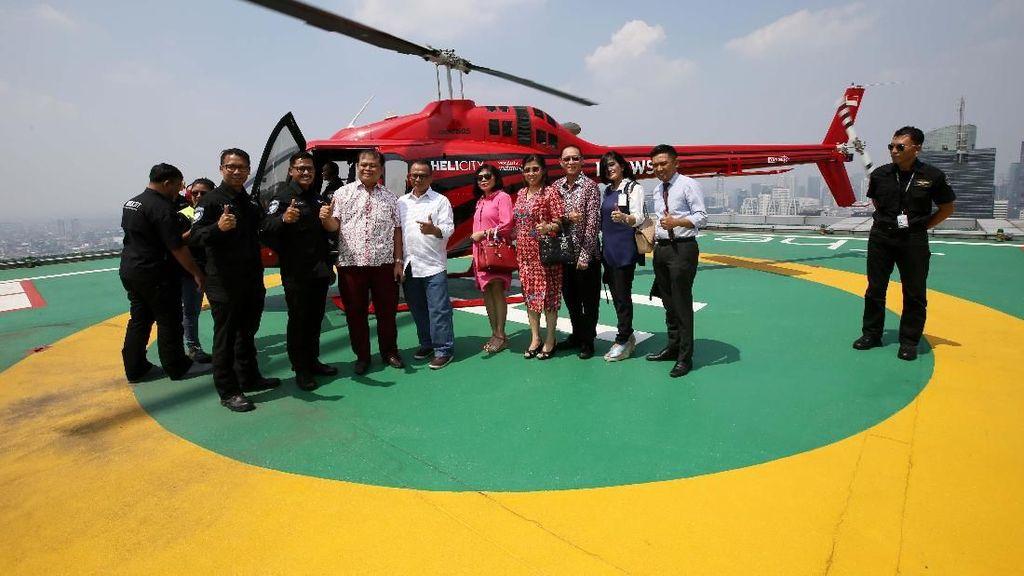 BNI Layani Nasabahnya dengan Helikopter