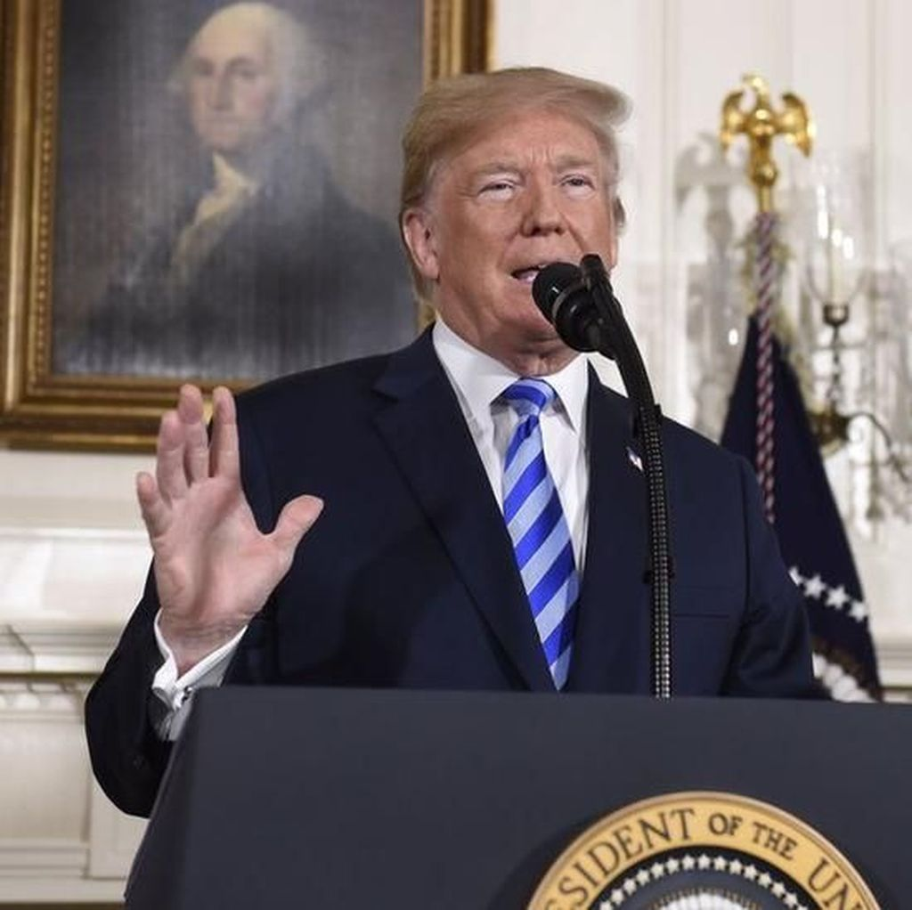Trump: Militer AS Siap Jika Korut Bertindak Bodoh