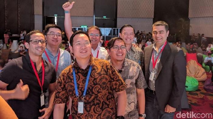 Para pendiri start up di NextICorn International Summit Mei lalu. Foto: Adi Fida Rahman/detikINET