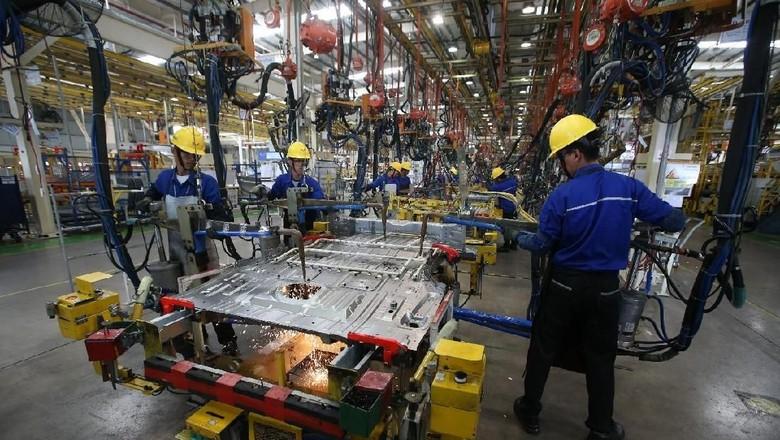 Pabrik mobil Wuling di Cikarang Foto: Dok. Wuling Motors Indonesia