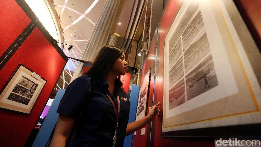 Pameran Sejarah Perjalanan Asian Games di Indonesia
