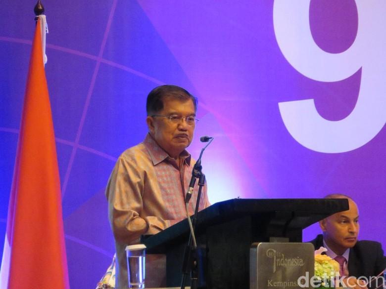 JK: Butuh Tindakan Tegas TNI-Polri untuk Perangi Terorisme