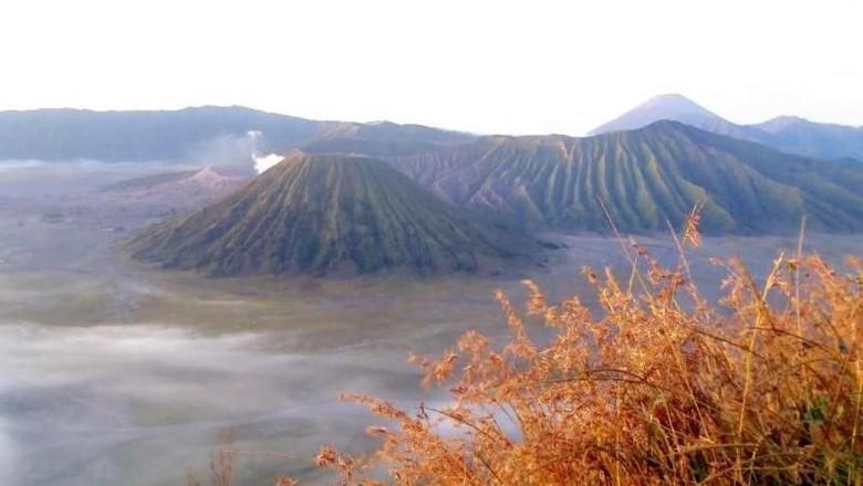 Gunung Bromo, salah satu daya tarik Pulau Jawa (Bekti Yusti/dTraveler)