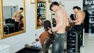 Nyalon Sambil Cuci Mata! Salon Ini Punya Hairstylist Ganteng Telanjang Dada
