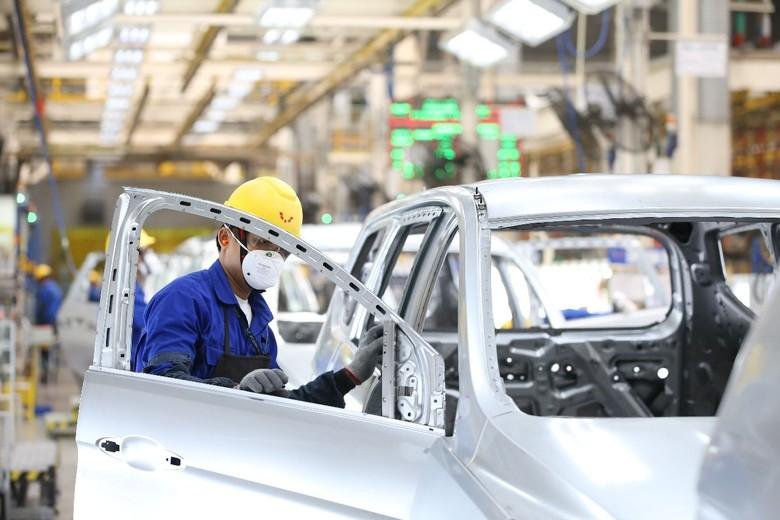 Pabrik Wuling. Foto: Dok. Wuling Motors Indonesia