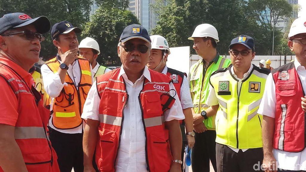 Menteri PUPR Kebut Tiga Venue Asian Games yang Masih Jadi PR