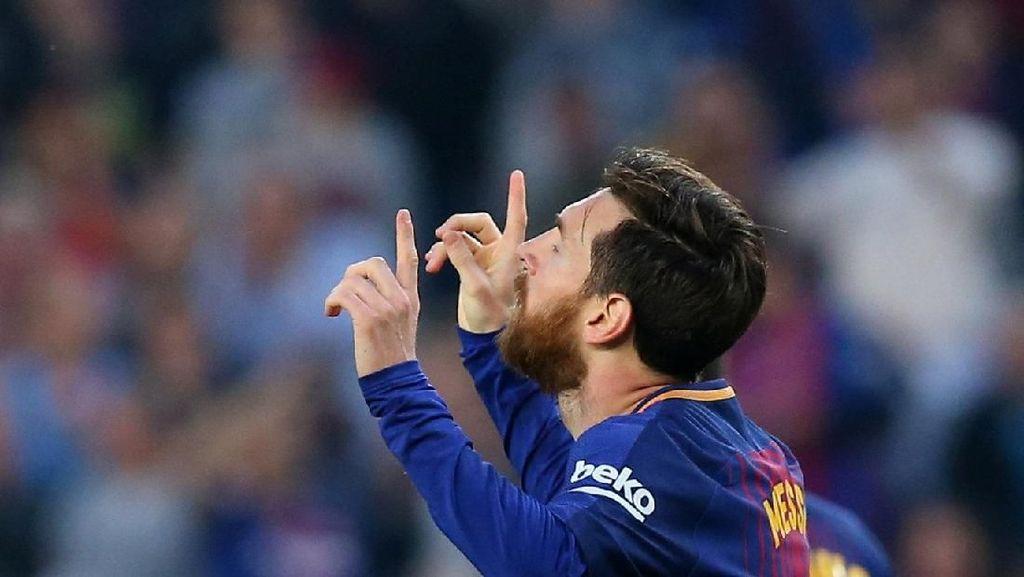 Messi Teratas, Ini Para Pemain Tersubur La Liga 2017/2018