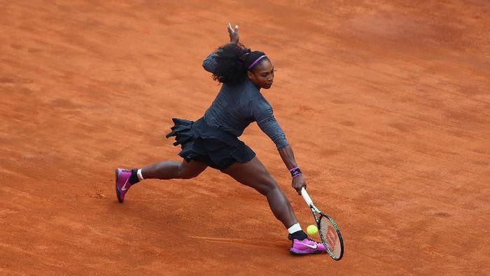 Penampilan terakhir Serena Williams di Italia Terbuka 2016. Dia menjadi juara saat itu. (Foto: Matthew Lewis/Getty Images)