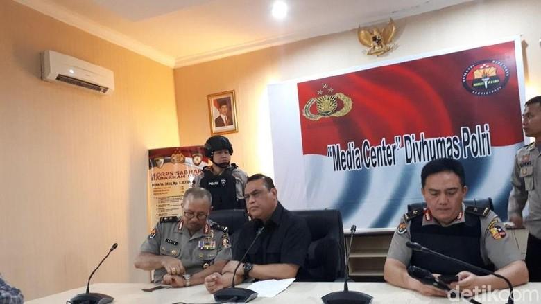 Seluruh Teroris dari Mako Brimob Dipindahkan ke Nusakambangan