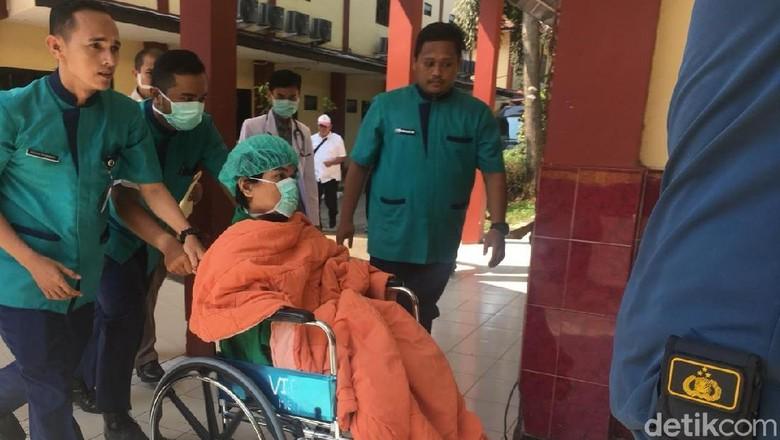 Napi Teroris Abu Afif Terluka, Dirawat di RS Polri